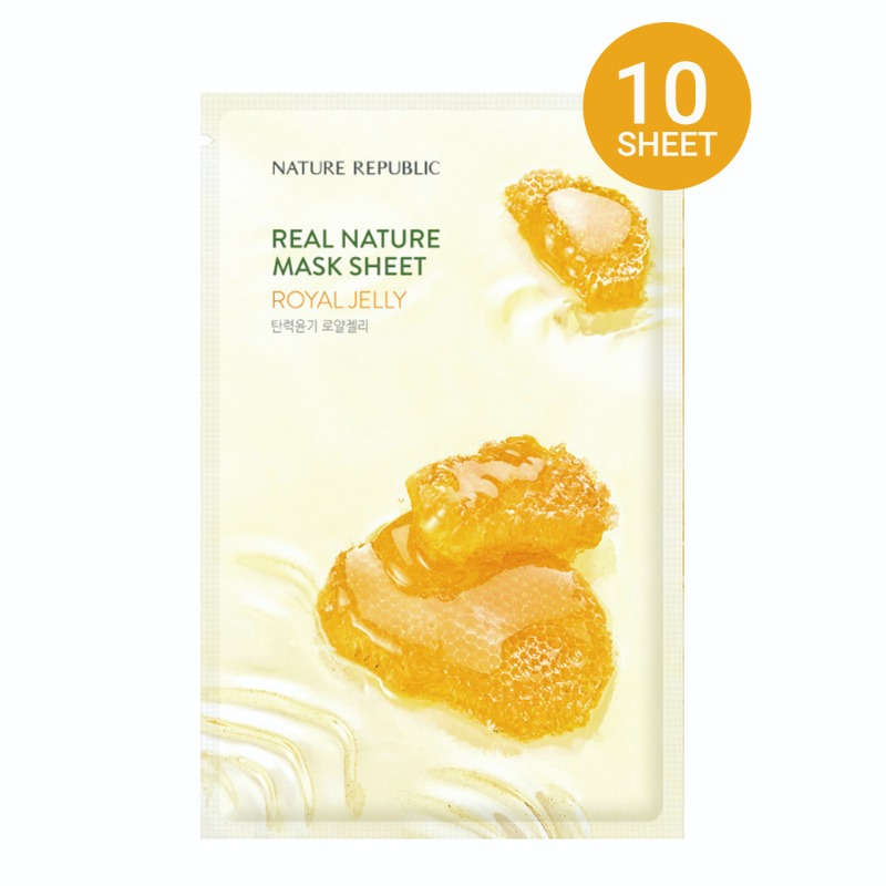 K-Beauty, kbeauty, Nature Republic, Royal Jelly, Maskpack, Mask Sheet